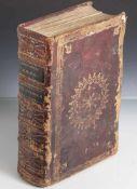"""Stundenbuch """"Breviarium Romanum"""" 1719, mit den Texten für die Feier des Stundengebets der römisch-"""
