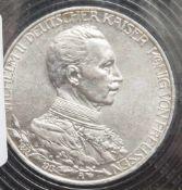 1 Münze, 3 Mark, Wilhelm II. von Preussen, 1913 A.