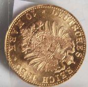 10 Goldmark, 1880 Bayer D.
