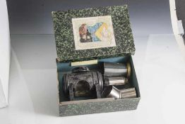 Laterna Magica, Cinematograph, Projektionsgerät, auch Skioptikon genannt, 19. Jahrhundert,