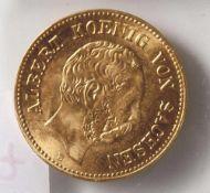 5 Goldmark, 1877 Sachsen E.