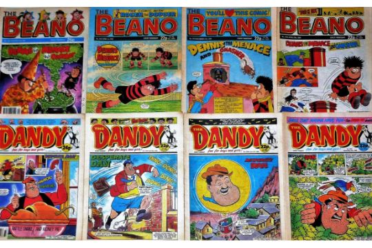 The Dandy Amp Beano Comics Comprises Of One Hundred And Twenty