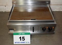 A LINCAT IP21B 3-Phase Twin Element Griddle Plate