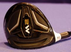 A TAYLORMADE M2 2016 3.15 Degree Left Handed Fairway Wood on A TAYLORMADE M2 65 Flex-R 41.5 inch
