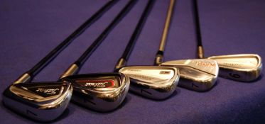 A TITLEIST AP2 Tungsten Forged 7 Iron on A DYNAMIC Gold S300 Shaft, A TITLEIST AP1 Tungsten 7 Iron