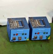 Two LTM ALIMARC 200 Ballast Power Supplies