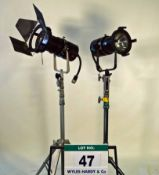 Two LTM CINEPAR 575 Lights (As Photographed)