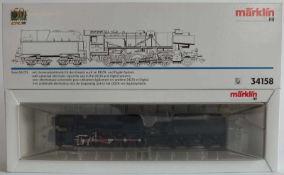 DAMPFLOKOMOTIVE, Serie 56 CFL, Hersteller Märklin/ Göppingen, Spur H0, Nr. 34158, Delta- und