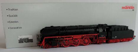 DAMPFLOKOMOTIVE, BR 01.5 Deutsche Reichsbahn der DDR Epoche III, Hersteller Märklin/ Göppingen, Spur