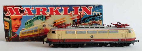 E-LOKOMOTIVE, BR 103, Hersteller Märklin/ Göppingen, Spur H0, Nr. 3054, orig. Karton