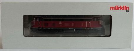 DIESELLOKOMOTIVE, BR 218, Hersteller Märklin/ Göppingen, Spur H0, Nr. 37767, orig. Karton