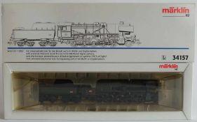 DAMPFLOKOMOTIVE, Serie 150 Y SNCF, Hersteller Märklin/ Göppingen, Spur H0, Nr. 34157, Delta- und
