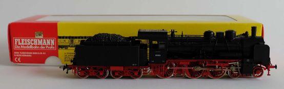 DAMPFLOKOMOTIVE, BR 38 2609, Hersteller Fleischmann/ Heilsbronn, Spur H0, Nr. 396701, mit Decoder,