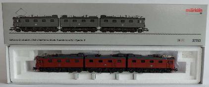 E-LOKOMOTIVE, Schwere Erzlokomotive Reihe Dm 3 Schwedische Staatsbahnen (SJ)/ Epoche IV,