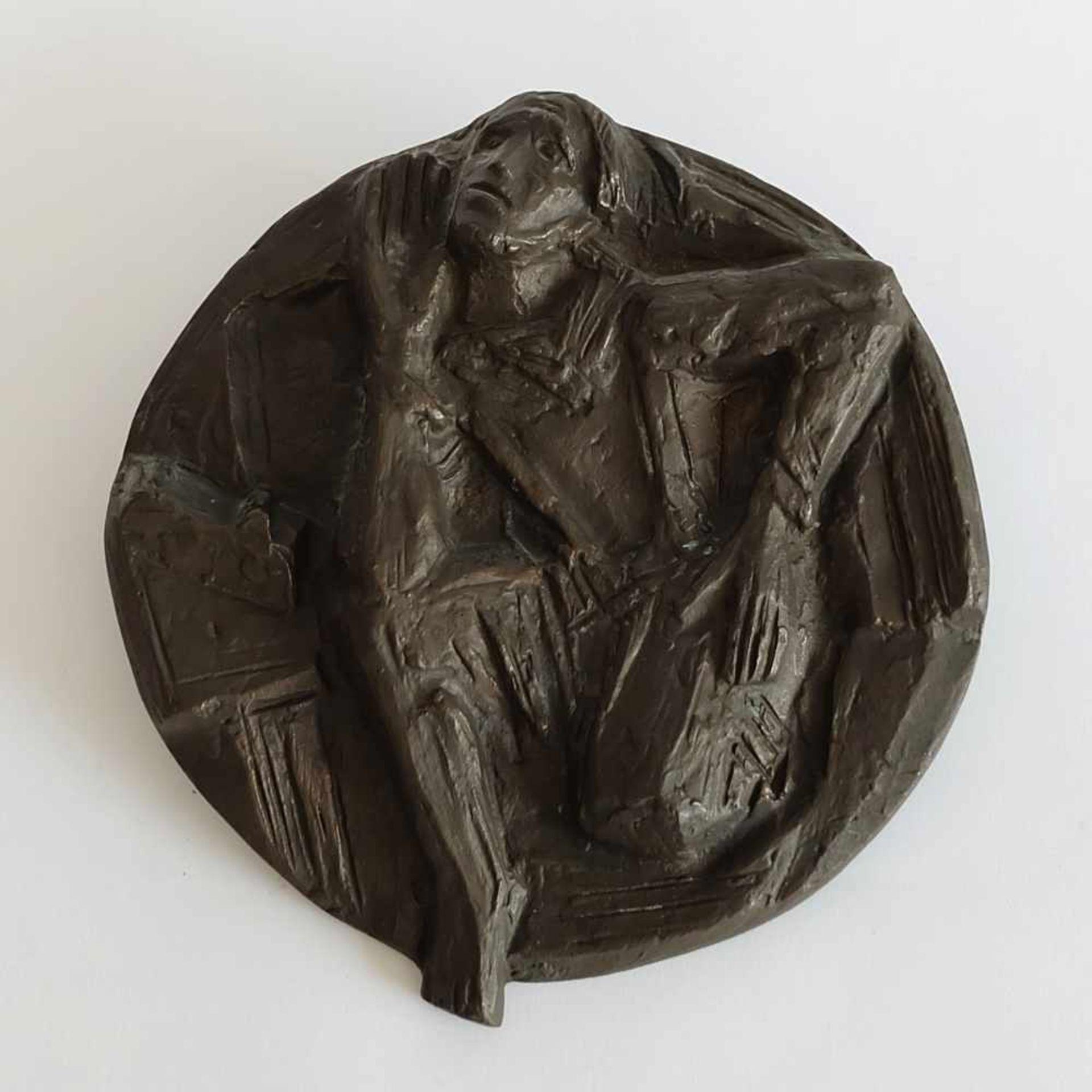 """KRAUTWALD, Joseph (*07.03.1914 Borkendorf/ Schlesien +13.01.2003 Rheine), Große Reliefplatte, """""""