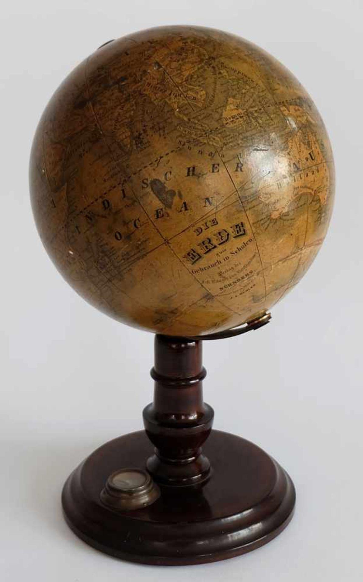 GLOBUS, Verlag der J.G. Klinger´schen Kunsthandlung, J.A. Bühler, Die Erde zum Gebrauch in