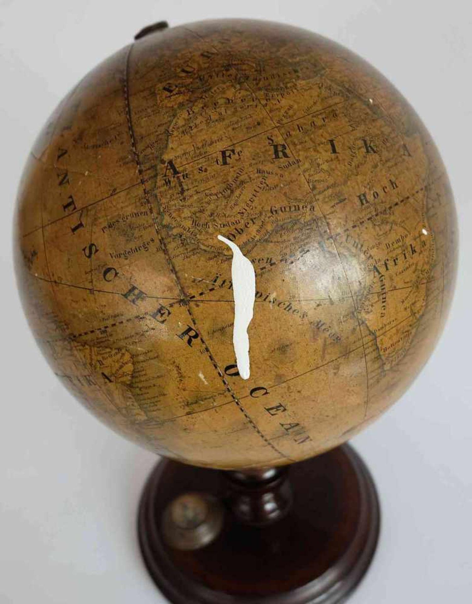 GLOBUS, Verlag der J.G. Klinger´schen Kunsthandlung, J.A. Bühler, Die Erde zum Gebrauch in - Bild 2 aus 2