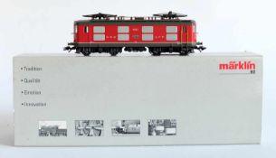 E-LOKOMOTIVE, Serie 4/4 I, SBB Epoche IV, Herst. Märklin/Göppingen, Spur H0, Nr. 37044, minimalst