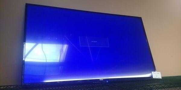 "Lot 6 - Haier 48"" Flat Screen TV with Wall Mount Bracket"