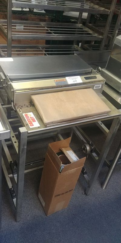 Lot 49 - Hobart Heat Seal Station with New Roll of Wrap