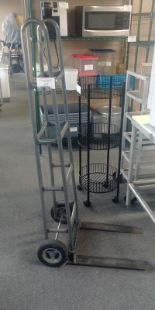 Lot 44 - Heavy Duty 2 Wheel Dolly with Forks