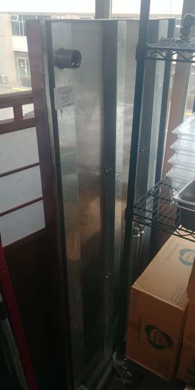 """Lot 35 - Unassembled 30 x 60"""" Stainless Steel Table"""