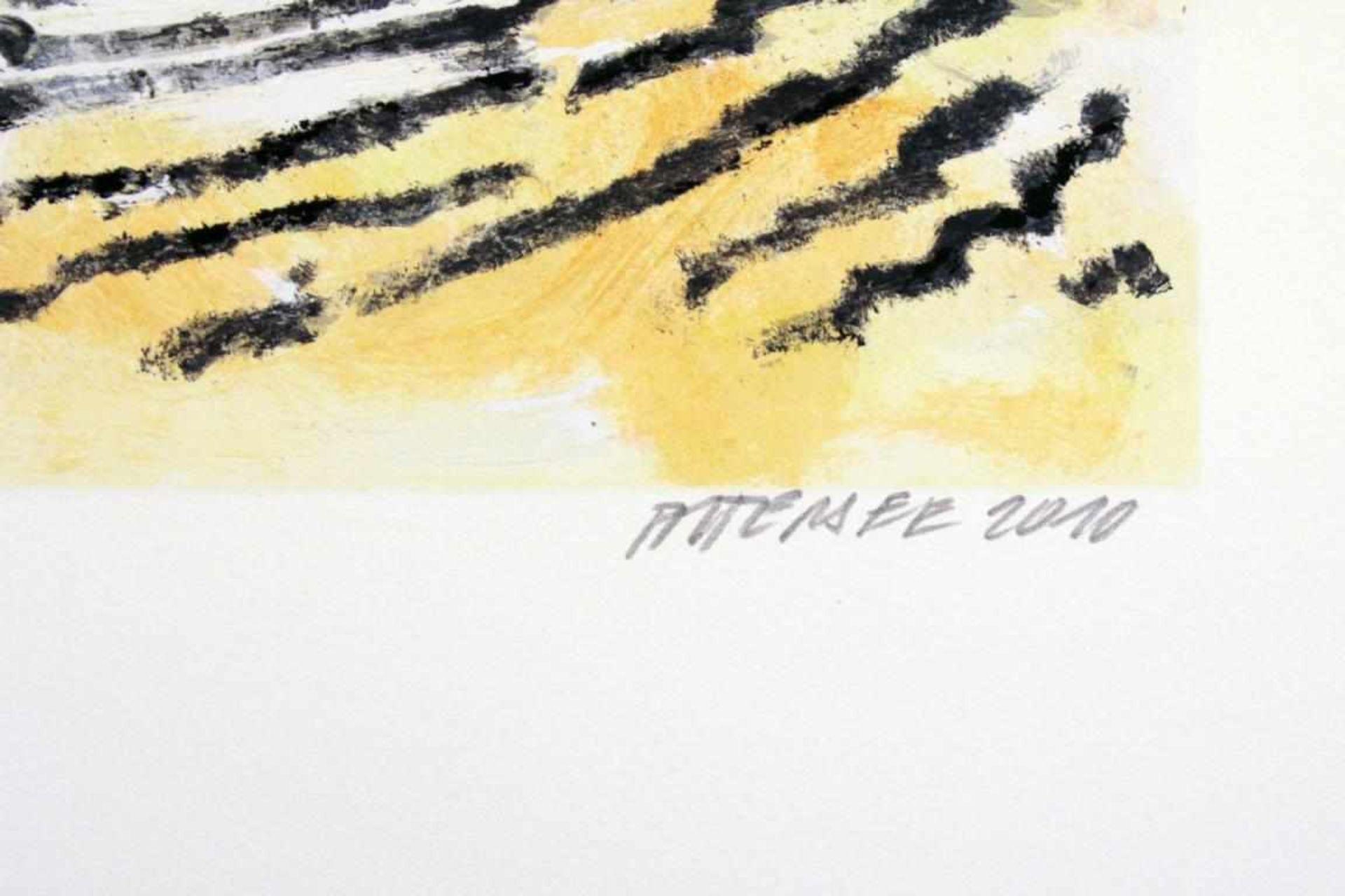 Attersee Christian Ludwig (geb. 1940) Ohne Titel 2010 Farblithographie handsigniert und nummeriert - Bild 2 aus 3