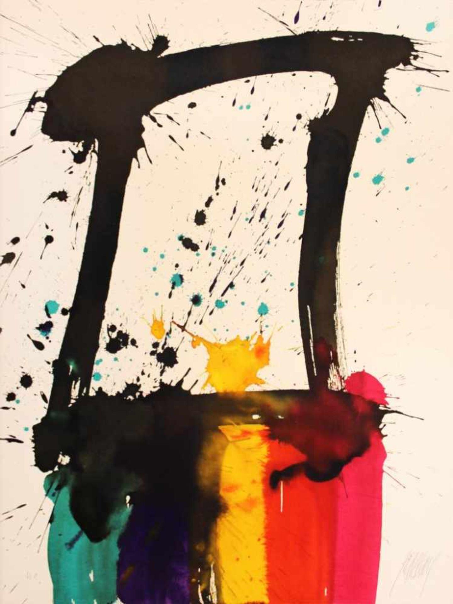 Prachensky Markus (1932-2011) Etruria meridionale (schwarz) 2012 Farblithographie stempelsigniert