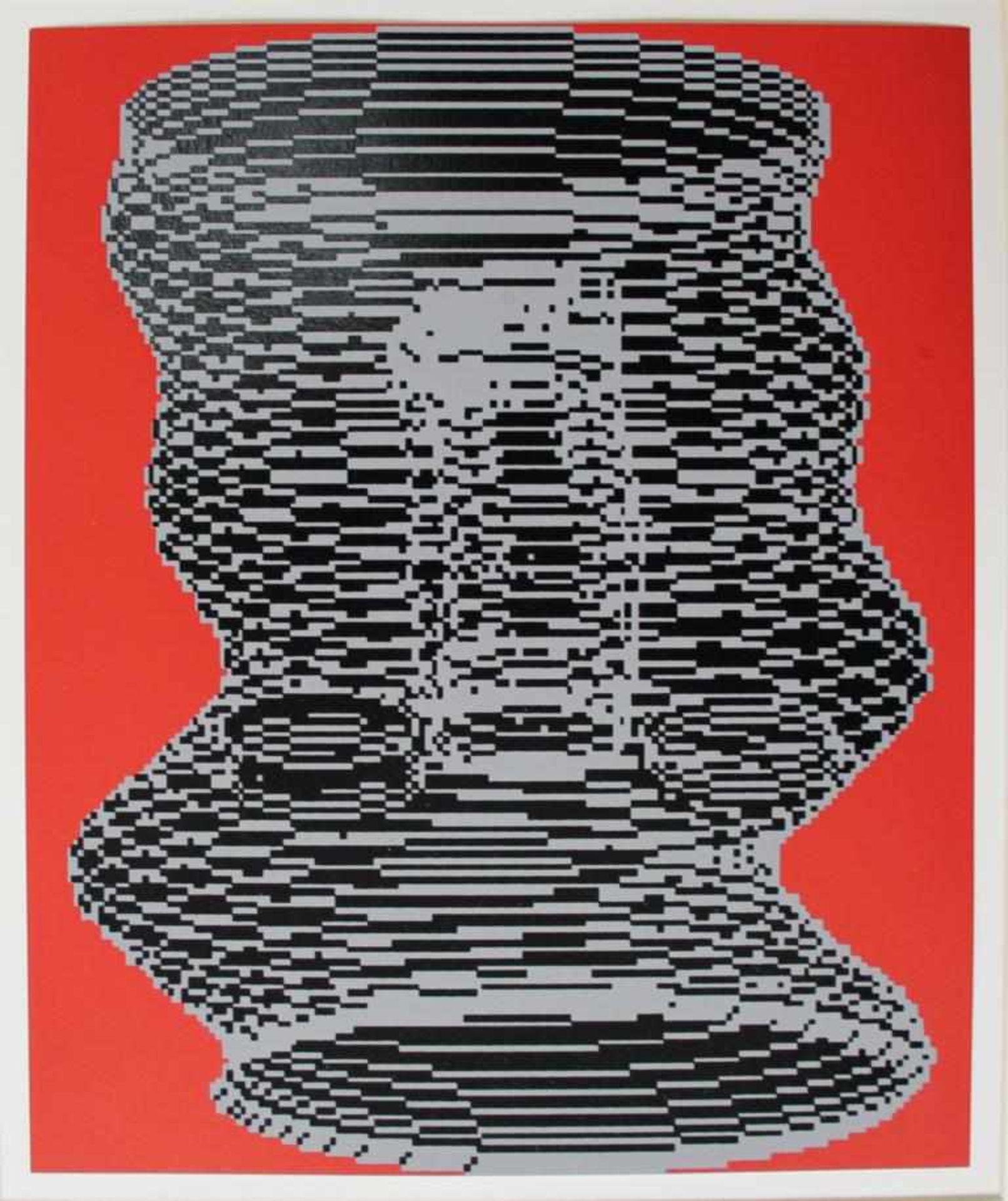 Los 36 - Kogler Peter (geb. 1959) Ohne Titel 1985 Siebdruck handsigniert verso 26 x 21,5 cm