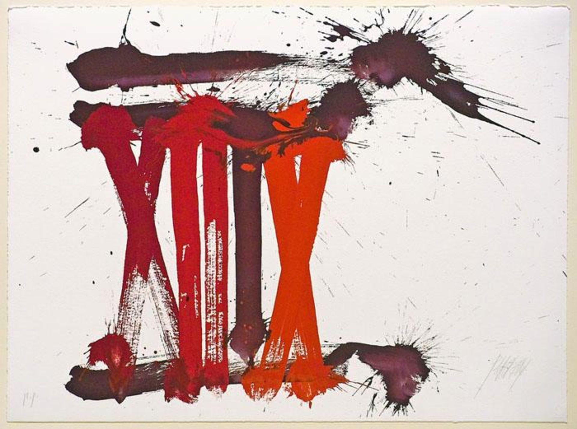 Prachensky Markus (1932-2011) Senatus Populusque Romanus 2009 Farblithographie handsigniert und