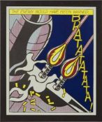 After Roy Lichtenstein (1932-1997) As i opened fire - 2 nach 1966 Offset-Lithographie Poster
