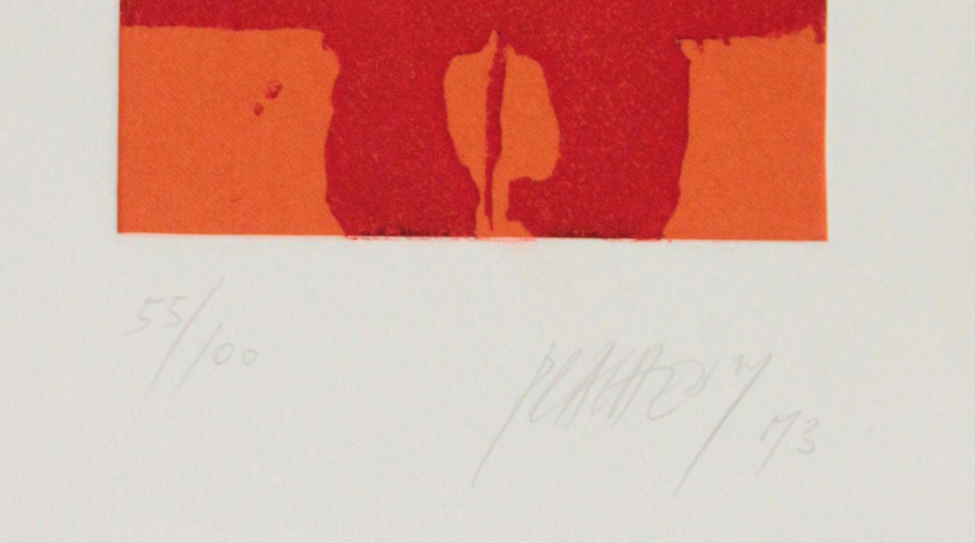 Los 51 - Prachensky Markus (1932-2011) Ohne Titel 1973 Prägeradierung handsigniert und nummeriert 55/100 34,5