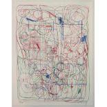 Nitsch Hermann (geb. 1938) Ohne Titel 1993 Farblithographie handsigniert, datiert und nummeriert