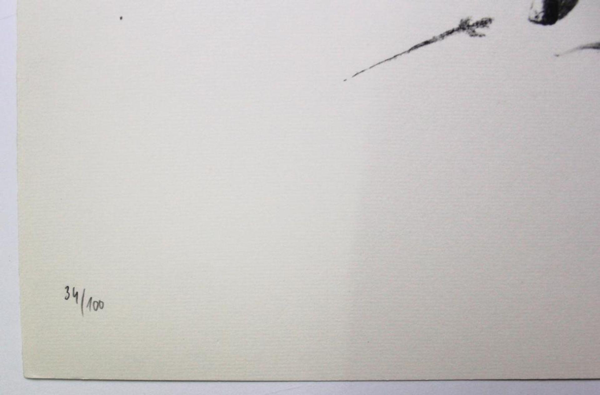 Los 39 - Korab Karl (geb. 1937) Ohne Titel 1974 Lithographie handsigniert, datiert und nummeriert, Edition