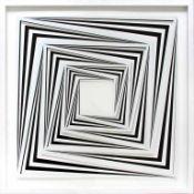 Morandini Marcello (geb. 1940) Komposition 633a 2017 3D Konstruktion aus Baumwollpapier und