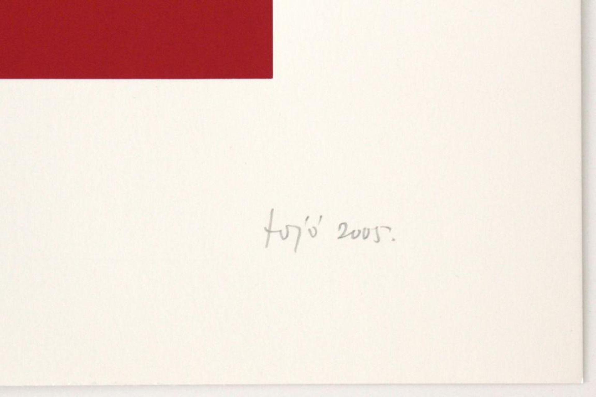 Los 5 - Fanjo Janosch (geb. 1931) Ohne Titel 2005 Siebdruck handsigniert, datiert und nummeriert 116/130