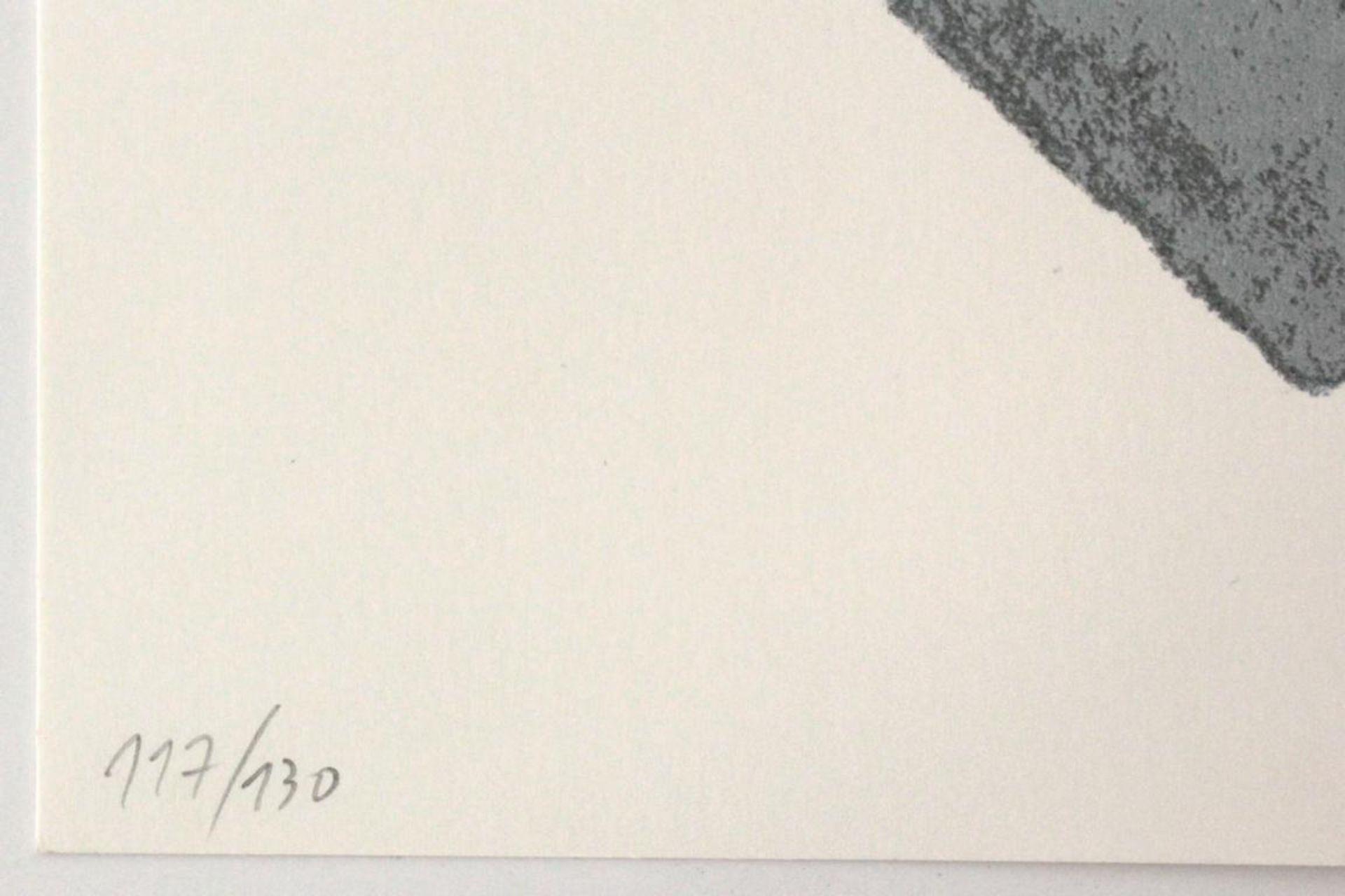 Kolibal Stanislav (geb. 1925) Ohne Titel 2005 Siebdruck handsigniert, datiert und nummeriert 117/ - Bild 3 aus 3