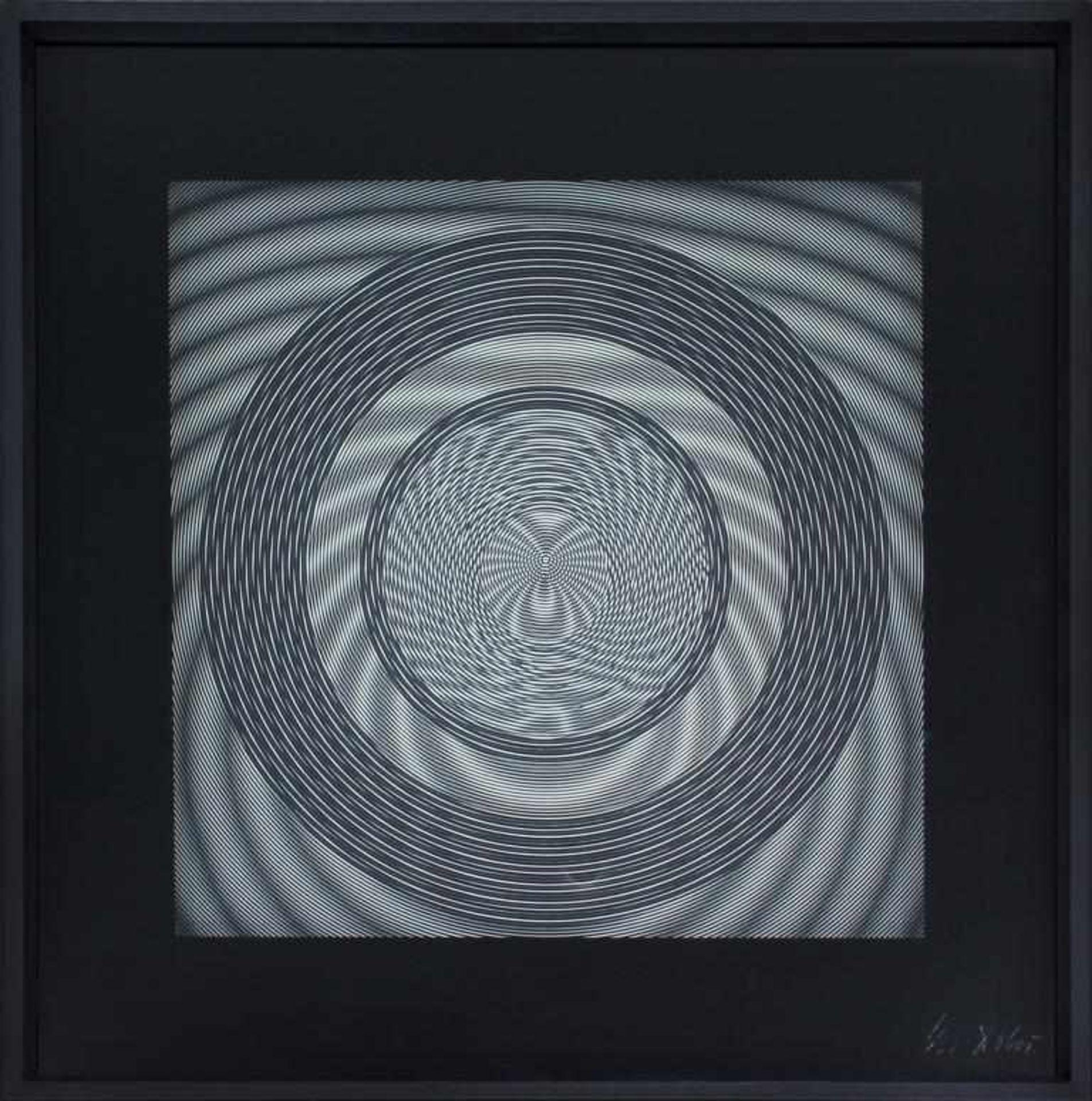 Los 10 - Dobes Milan (geb. 1929) Ohne Titel 1967 Reliefstruktur handsigniert und datiert 50 x 50 cm