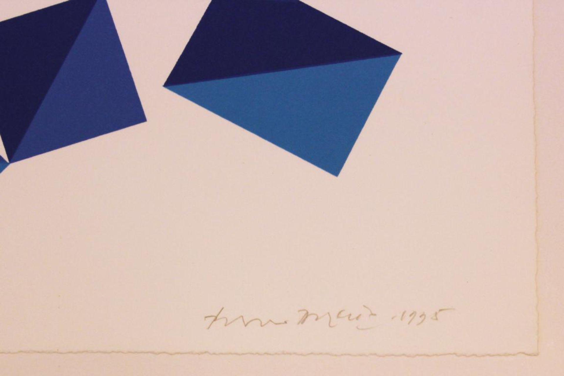 Doratio Piero (1927-2005) Ohne Titel 1995 Lithographie handsigniert, datiert und nummerieret 111/150 - Bild 2 aus 3