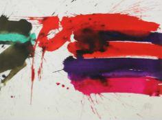 Prachensky Markus (1932-2011) Etruria orizontale 2012 Farblithographie stempelsigniert und