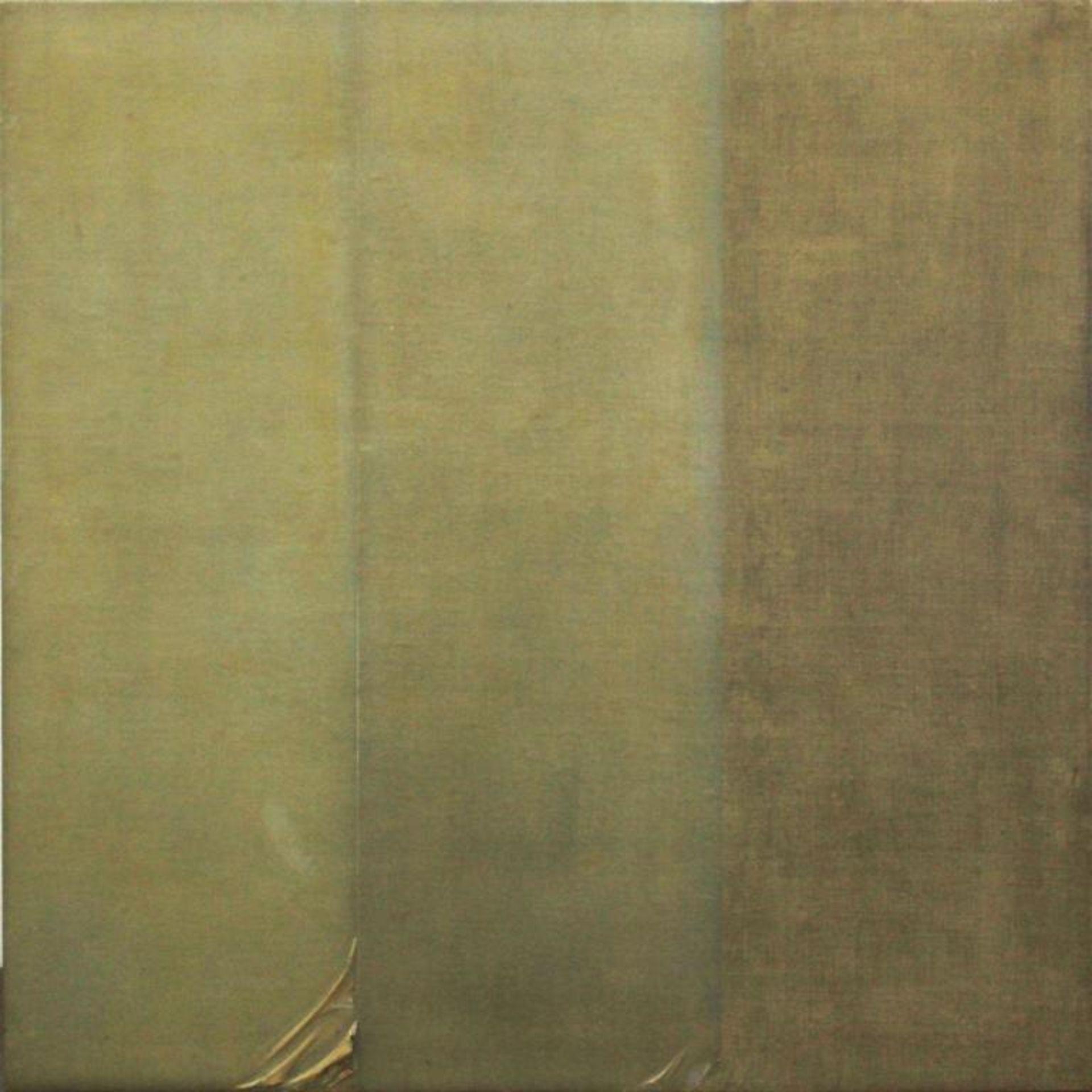 Los 11 - Hilmar Jiri (geb. 1937) Ohne Titel 1976 Transparentpapier auf Leinen auf Holz handsigniert und