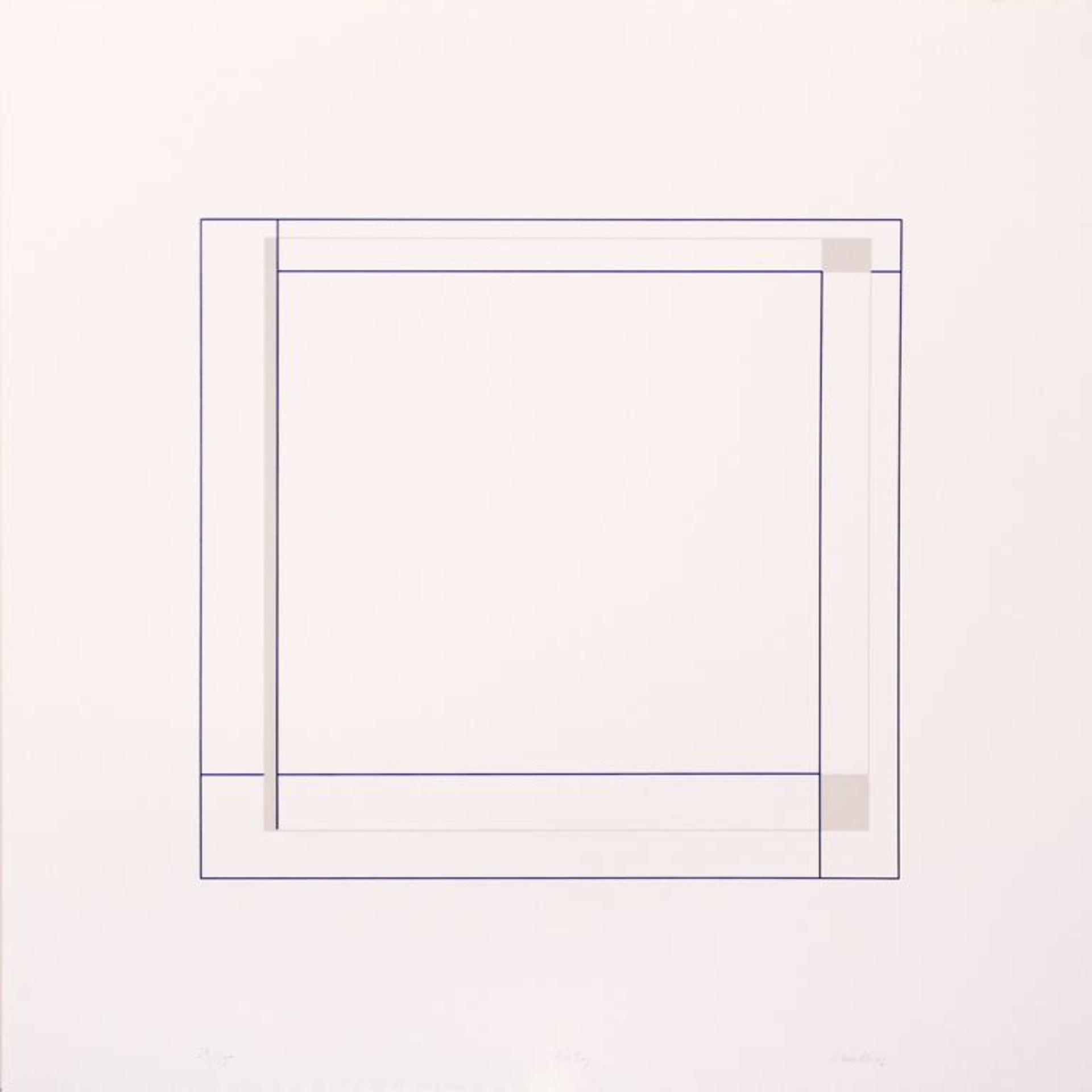 Los 19 - Staudt Klaus (geb. 1932) Dialog 2002 Siebdruck handsigniert, datiert und nummeriert 24/55 60 x 60