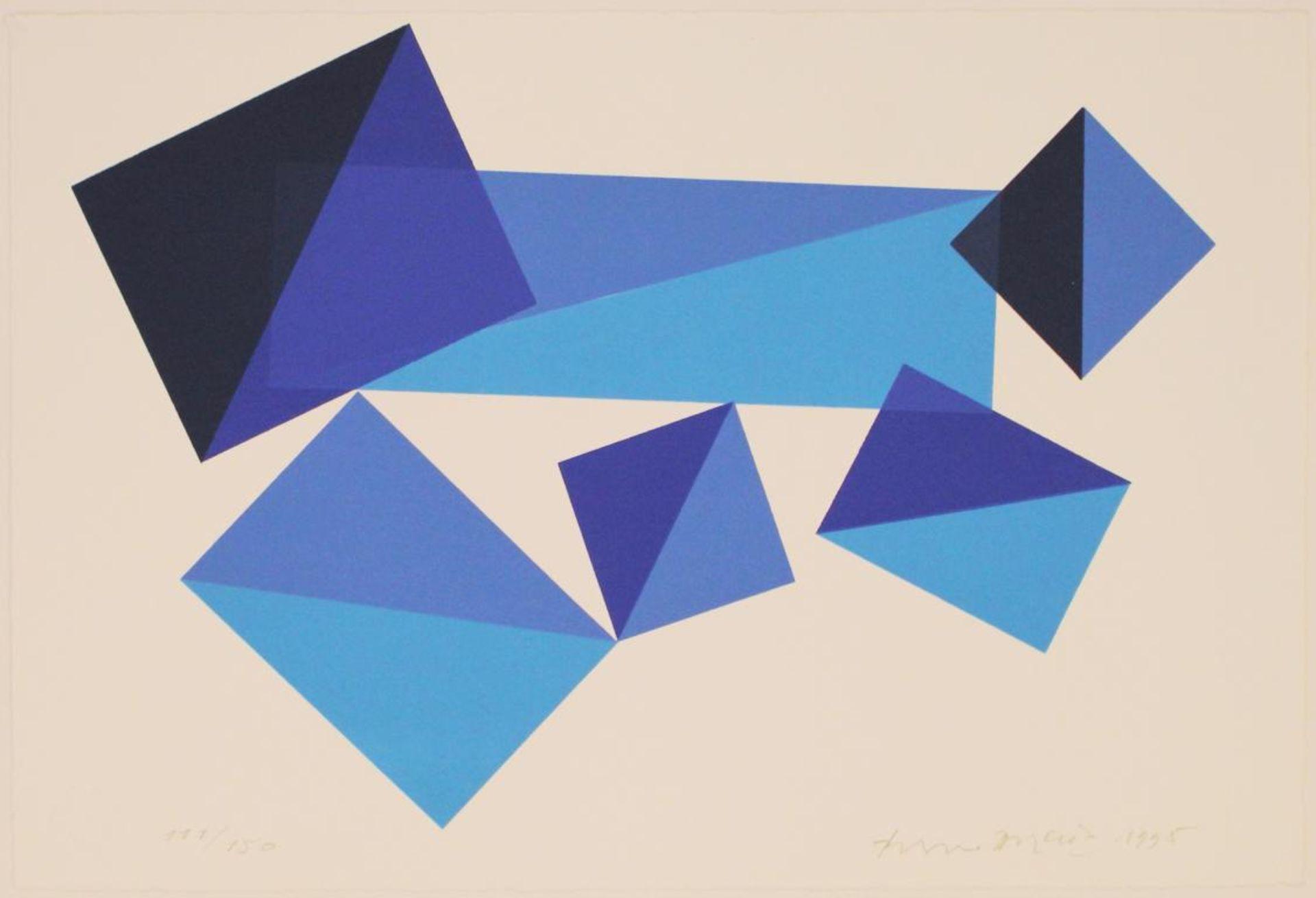 Doratio Piero (1927-2005) Ohne Titel 1995 Lithographie handsigniert, datiert und nummerieret 111/150