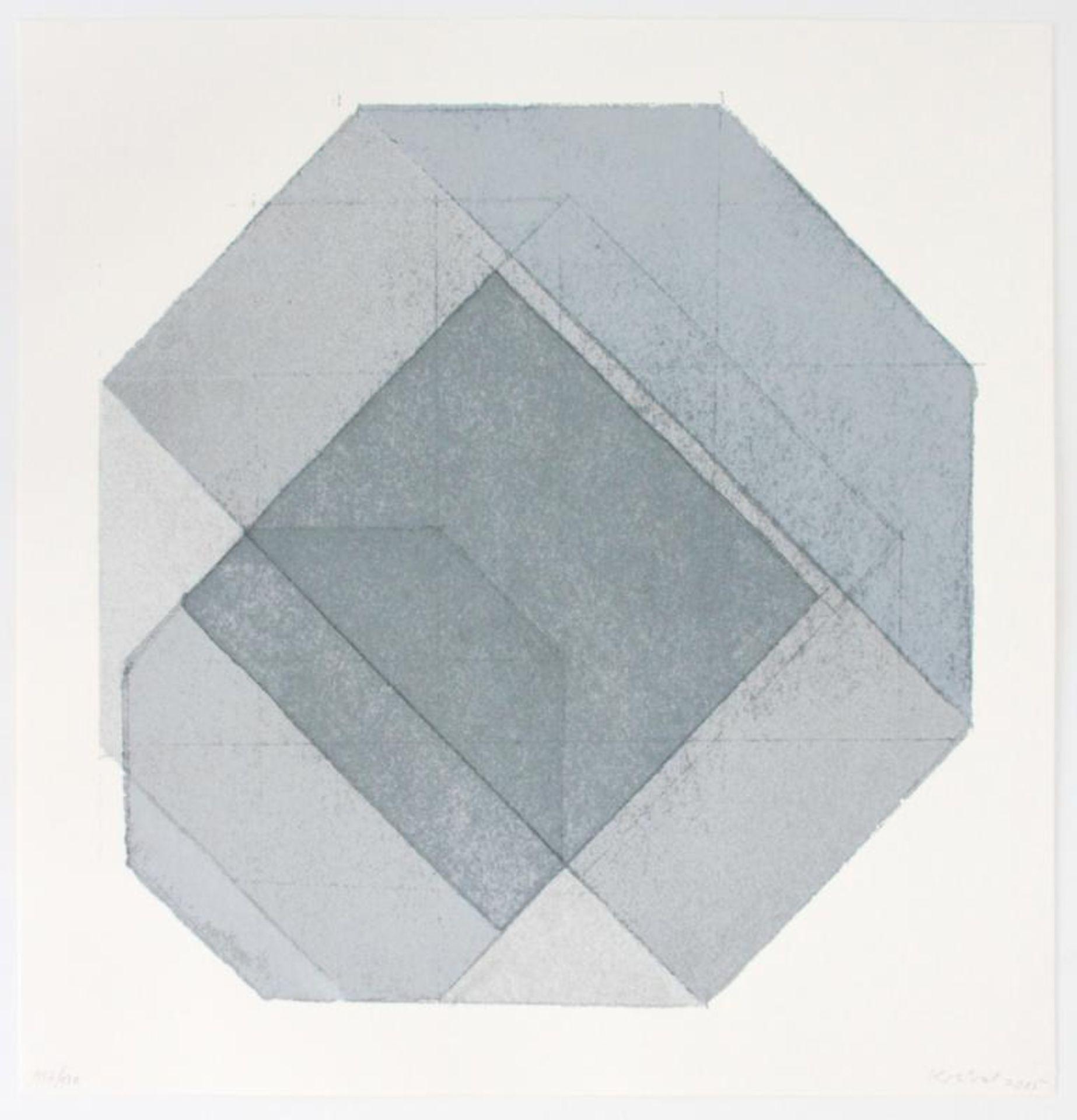 Kolibal Stanislav (geb. 1925) Ohne Titel 2005 Siebdruck handsigniert, datiert und nummeriert 117/