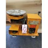 "Gullco multi positioner Horizontal/Vertical Welding Positioner 110 volt 12"" rotary table"