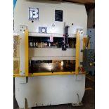 Bausch 400 Ton 4 Post Hydraulic Press