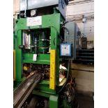 Alkano 250 ton 4 Post straight side Hydraulic Press ser#0015A, model 4P 250/2000