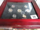 Lot 39 - Box of coins
