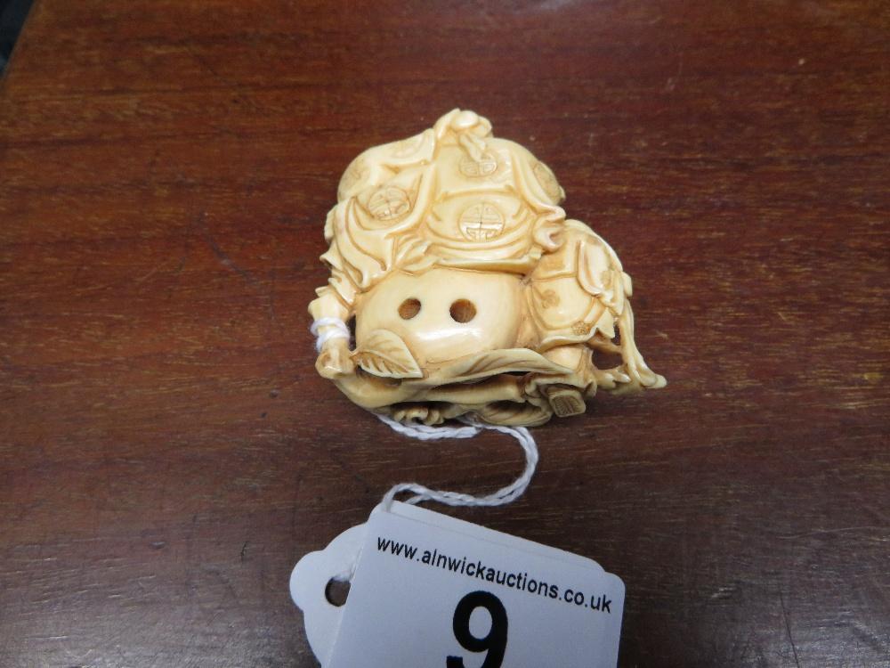 Lot 9 - Ivory Netsuke