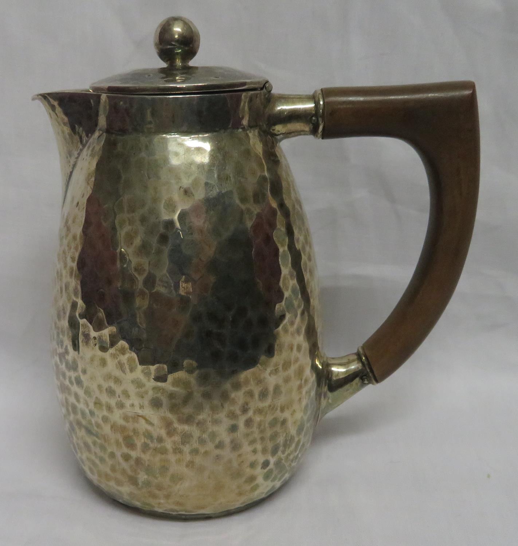 Lot 2 - Liberty silver hallmarked coffee pot Birmingham